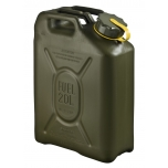 05939 Scepter NATO jerry can (military fuel can) 20L GENERIC Olive Drab with Yellow Strap which notes DIESEL