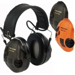 3M™ PELTOR™ SPORTTAC™ HEARING PROTECTION HUNTING ORANGE/GREEN MT16H210F-478-GN