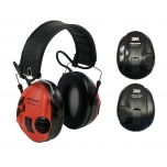 3M™ PELTOR™ SPORTTAC™ HEARING PROTECTION SHOOTING RED/BLACK MT16H210F-478-RD