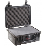 Peli Case 1150, WITH FOAM, Black, Interior 21,1x14,7x9,5 cm
