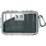 Peli 1040 Micro Case, NO FOAM, Black, interior 16,5x9,8x4,4 cm
