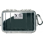 Peli 1050 Micro Case, NO FOAM, Black, interior 16x9,3x7 cm