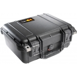 Peli Case 1400, NO FOAM, Black, Interior 30,1x22,8x13,1 cm