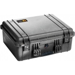 Peli Case 1550, WITH FOAM, Black, Interior 47,3x36x19,6 cm