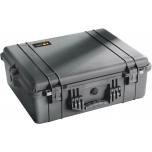 Peli Case 1600EU, WITH FOAM, Black, Interior 54,6x42x20,2 cm