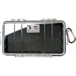 Peli 1060 Micro Case, NO FOAM, Black, interior 21x10,8x5,7 cm