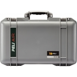 Peli Air Case 1535, NO FOAM, Silver, Interior 51,8x28,4x18,3 cm
