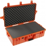Peli Air Case 1605, WITH FOAM, Orange, Interior 66x35,6x21,3 cm