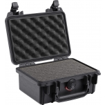 Peli Case 1120, WITH FOAM, Black, Interior 18,5x12,1x8,5 cm