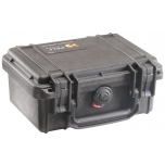 Peli Case 1120, NO FOAM, Black, Interior 18,5x12,1x8,5 cm