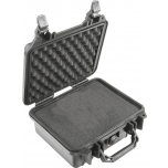 Peli Case 1200, WITH FOAM, Black, Interior 23,5x18,1x10,5 cm