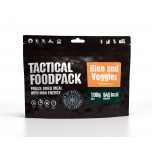 Tactical Foodpack | Rice and Veggies | 645kcal