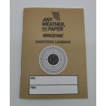 MODESTONE waterproof SHOOTERS LOGBOOK 105x149 mm 20sheets/40pages
