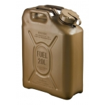 05482 Scepter jerry can (military fuel can) 20L Field Drab / DIESEL and PETROL