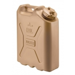 10859 Scepter Military Water Can (MWC) 20L Sand (Arabic & English)