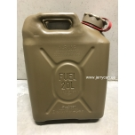 05482R Scepter jerry can (military fuel can) 20L Field Drab / Red strap notes PETROL