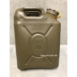 05482Y Scepter jerry can (military fuel can) 20L Field Drab / Yellow strap notes DIESEL