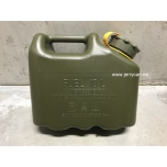 05895Y Scepter jerry can (military fuel can) 10L Olive Drab / Yellow strap notes DIESEL