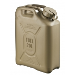 05577 Scepter jerry can (military fuel can) 20L Sand / DIESEL and PETROL