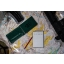 MODESTONE A13MIL 76x130 mm (10 PACK) TOP SPIRAL waterproof notebook GREEN 50sheets/100pages